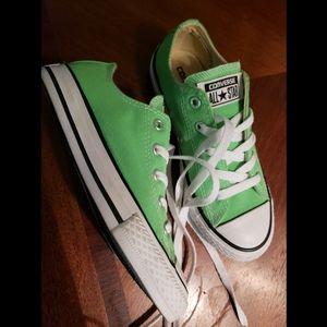 Size 1Y  Neon Green Chucks